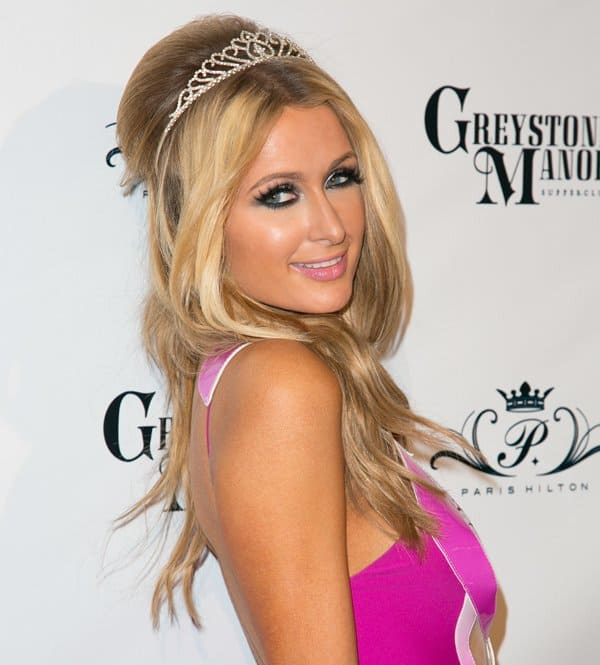 Paris Hilton Birthday Dress3