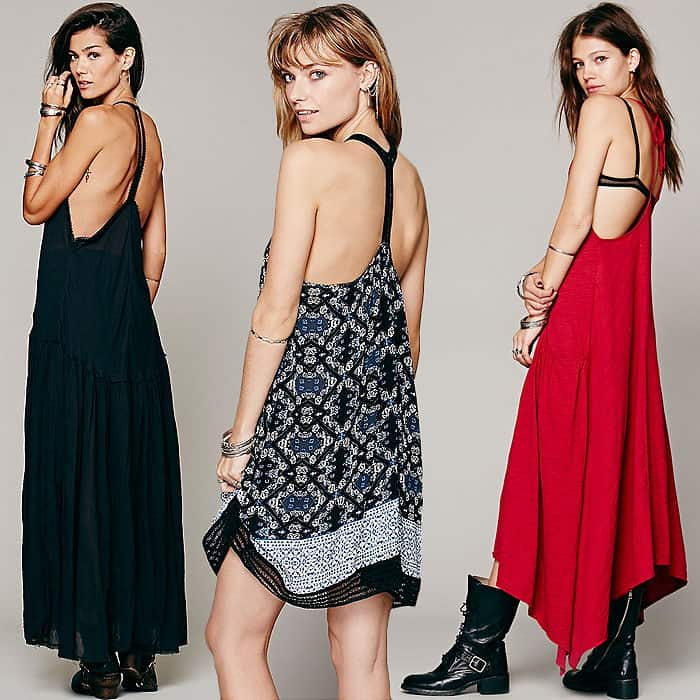 Dresses with low armholes