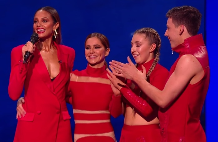 Alesha Dixon was pregnant while hosting The Greatest Dancer, a British dance competition television series created by Simon Cowell