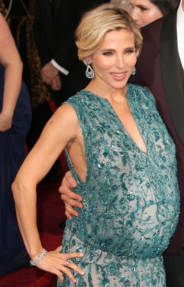 Pregnant Elsa Pataky In Elie Saab Is Ridiculed By George