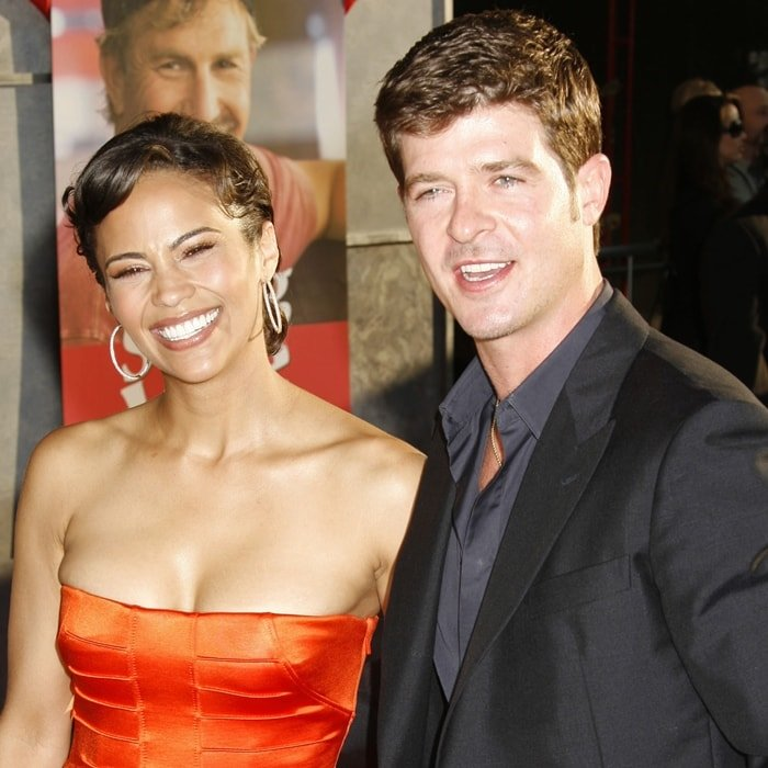 Robin Thicke and Paula Patton met at an all-ages dance club when they were teenagers