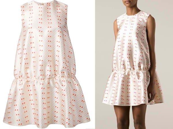 Stella McCartney's playful, matchstick-print dress
