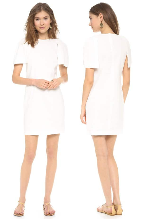 Apiece Apart - Bonillas Capelet Dress