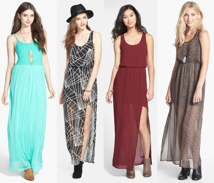 Perfect maxi dresses for the Coachella Valley Music and Arts Festival