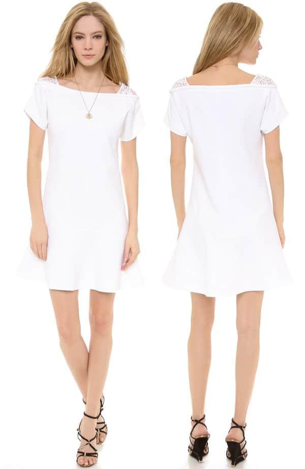 No. 21 - Short Sleeve Crepe Dress