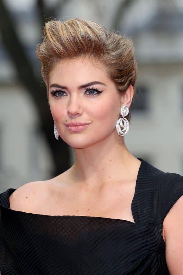 Kate Upton's Adler diamond earrings