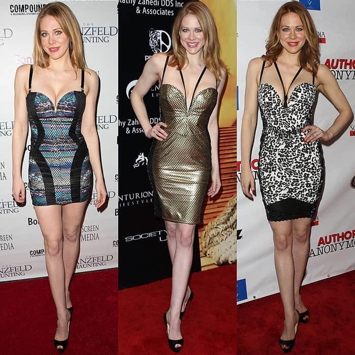 Maitland Ward revealing dresses 1