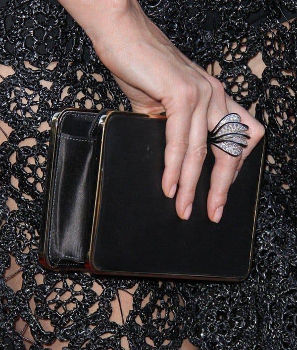 Charlize Theron Raffia Dress4
