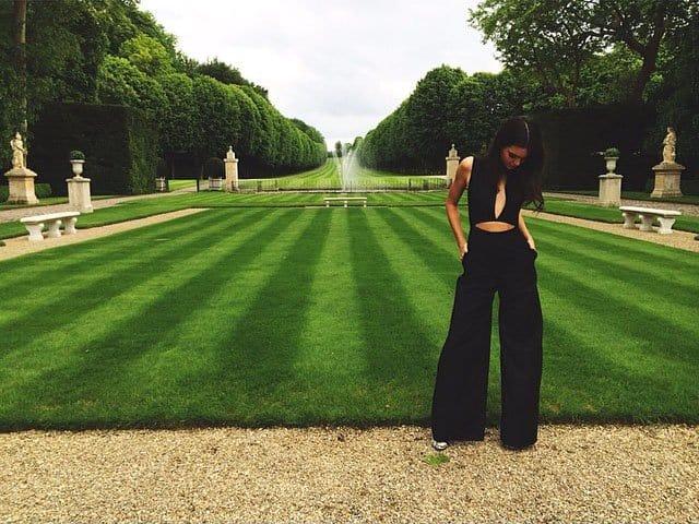 Kendall Jenner Valentino brunch