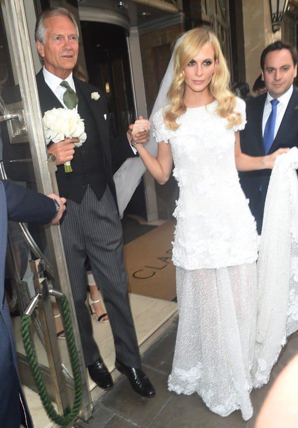 Poppy Delevingne Wedding