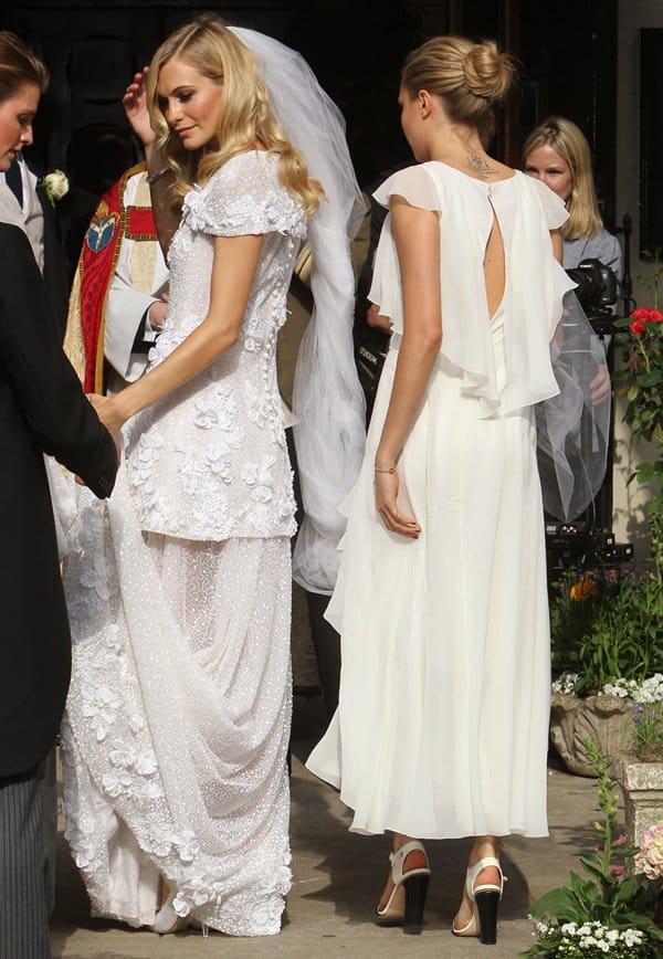 Poppy Delevingne Wedding3