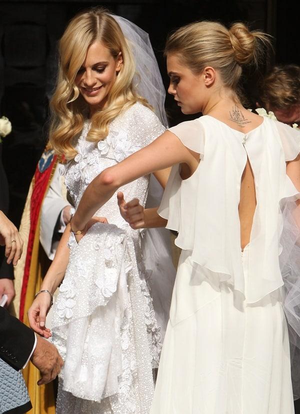 Poppy Delevingne Wedding4
