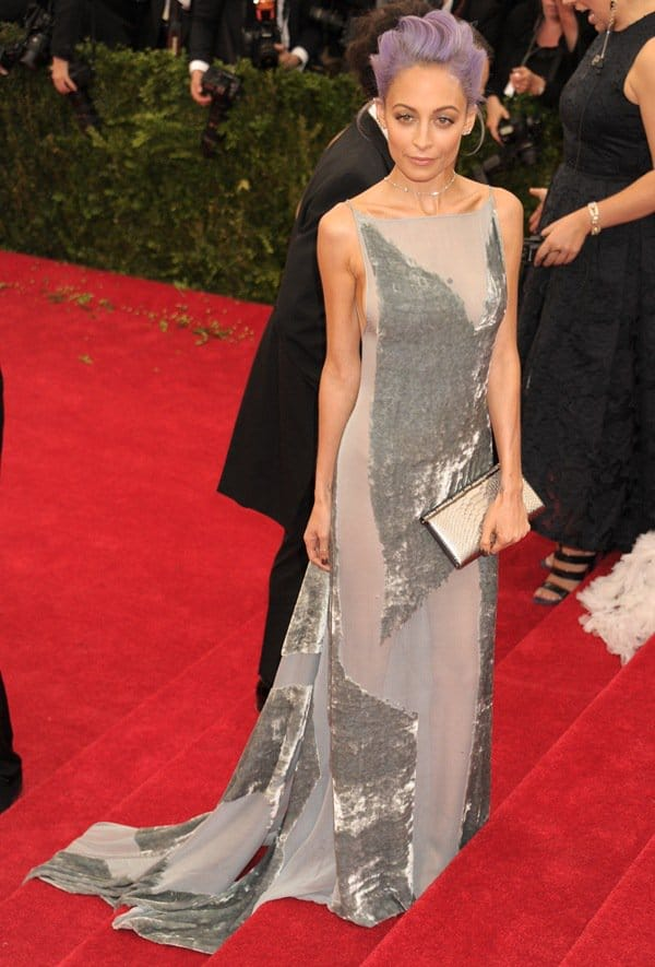 Nicole Richie at the 2014 Met Gala held at the Metropolitan Museum of Art in New York City on June 6, 2014