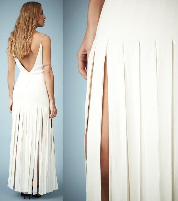 Kate Moss for Topshop Splice Skirt Maxi Dress