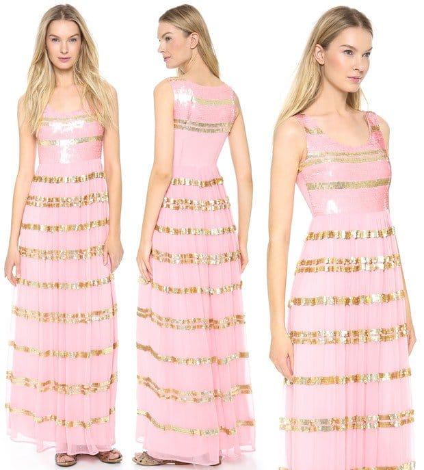 ALICE by Temperley Daphne Maxi Dress