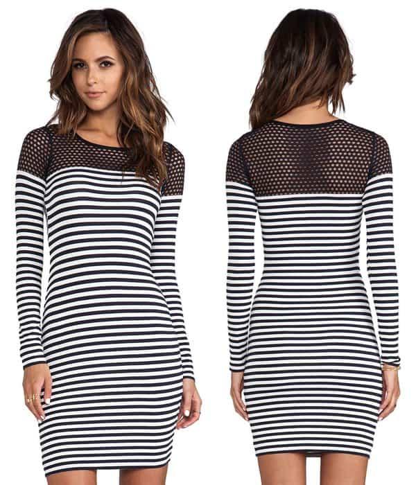 Bailey 44 Open Net Dress