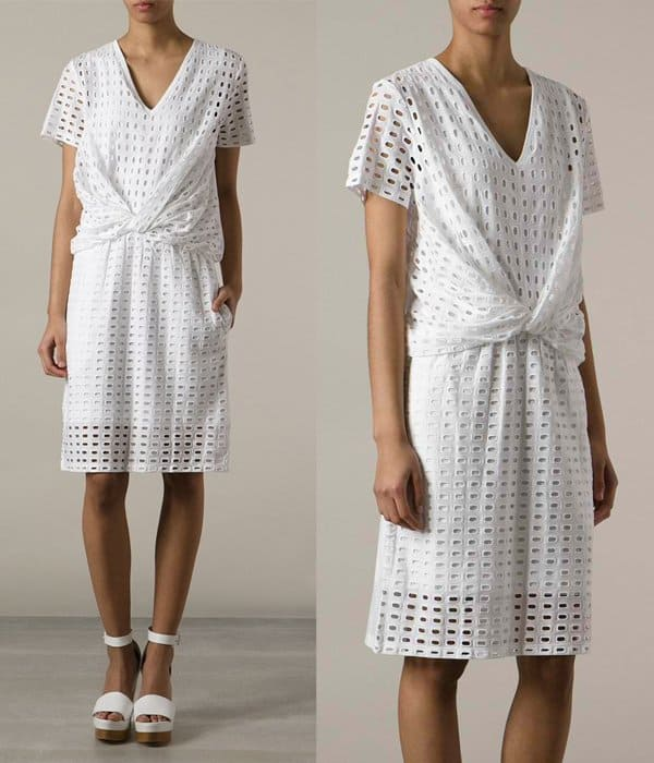 Carven Perforated Dress