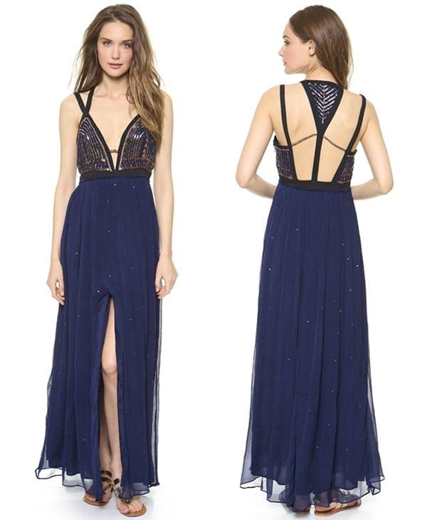 Free People Golden Chalice Dress