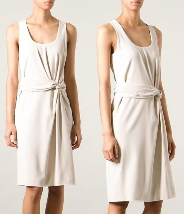 Gucci Knotted Front Dress