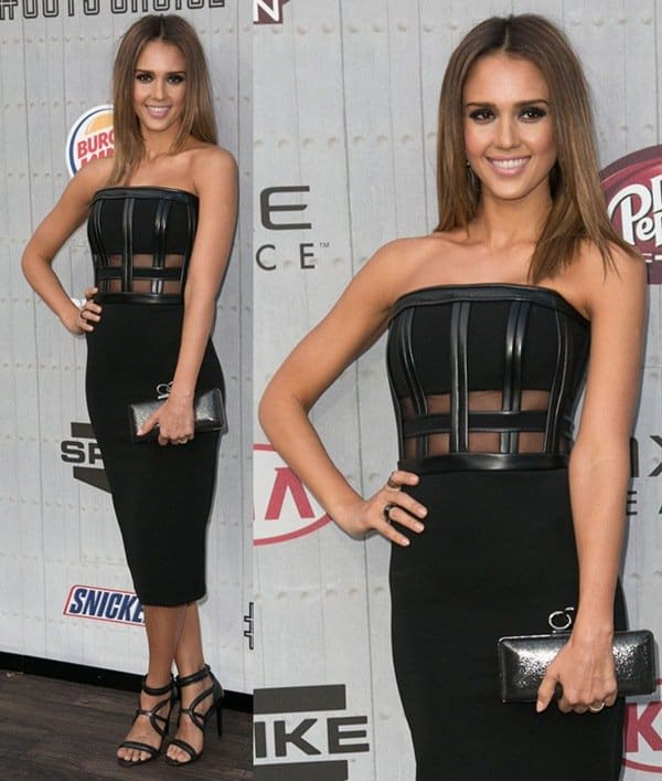 Jessica Alba at Spike TV's Guys' Choice Awards held at Sony Pictures Studios in Los Angeles on June 7, 2014' Choice Awards3