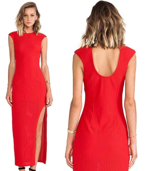 Lumier Web of Life Maxi Dress