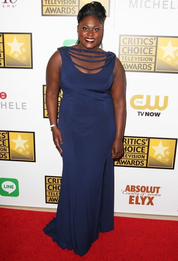Danielle Brooks at the 4th Annual Critics' Choice Television Awards