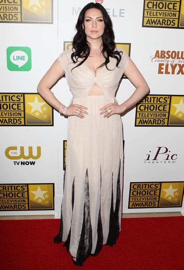 Laura Prepon at the 4th Anuual Critics' Choice Television Awards