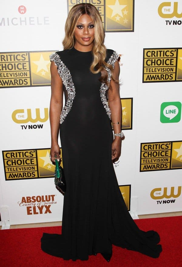 Laverne Cox at the 4th Annual Critics' Choice Awards