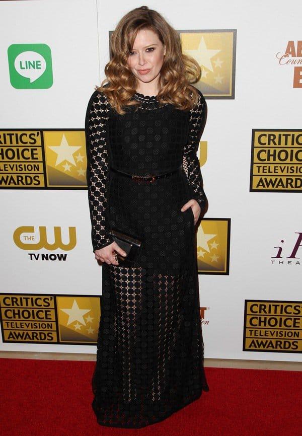 Natasha Lyonne at the 4th Annual Critics' Choice Awards