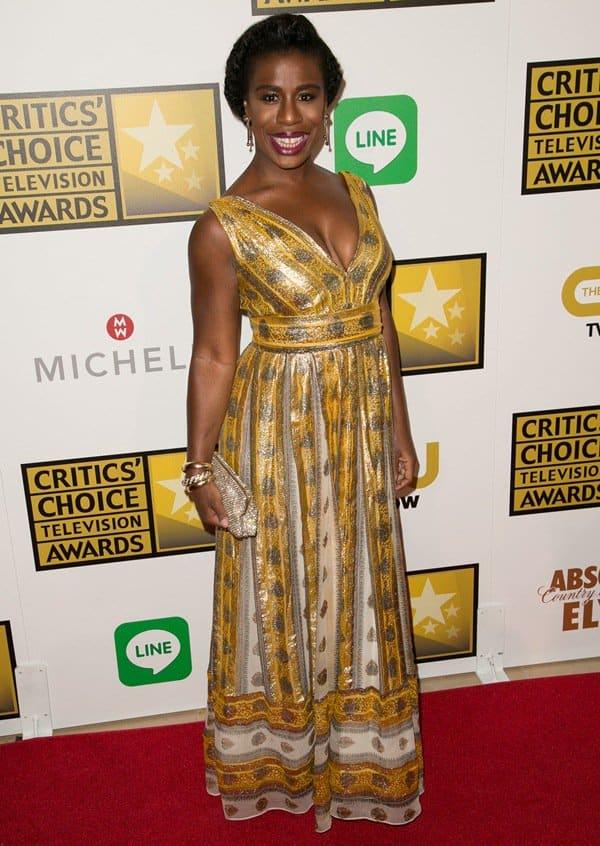 Uzo Aduba at the 4th Annual Critics' Choice Television Awards