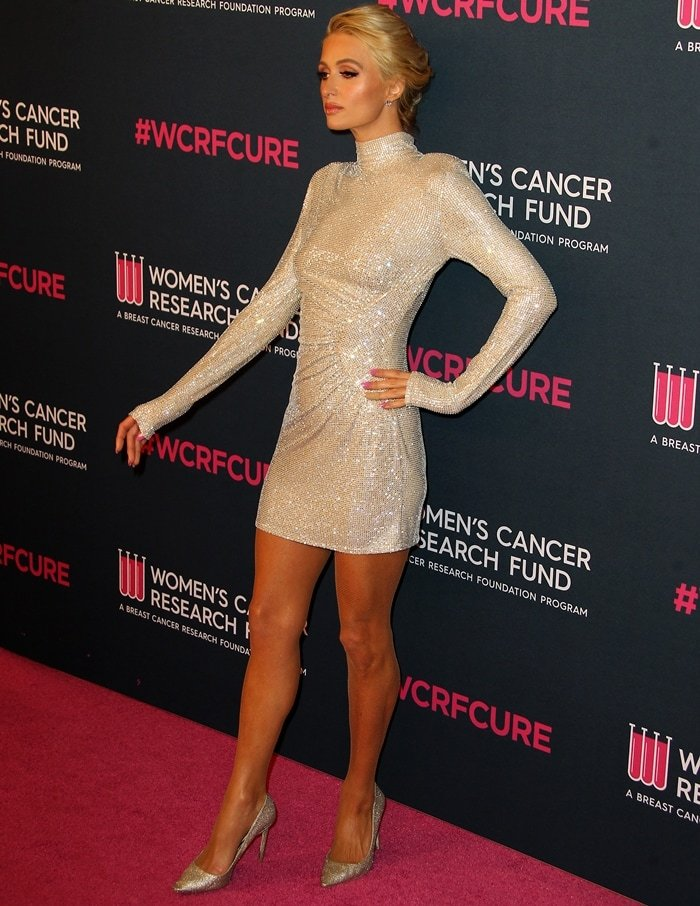 "Paris Hilton attends WCRF's ""An Unforgettable Evening"" at Beverly Wilshire"
