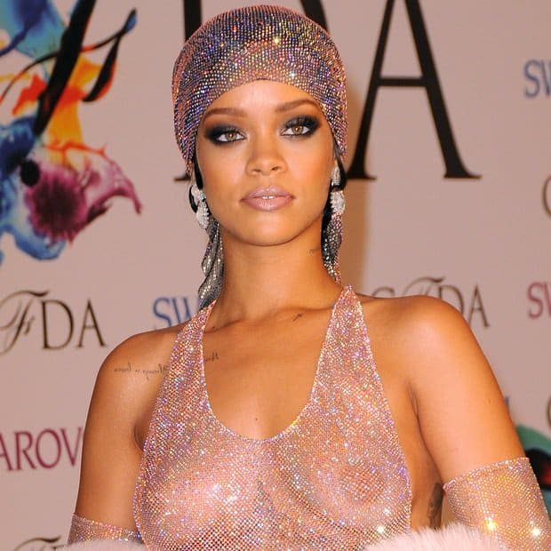 Rihanna at the 2014 CFDA Fashion Awards held at Alice Tully Hall at Lincoln Center in New York City on June 2, 2014