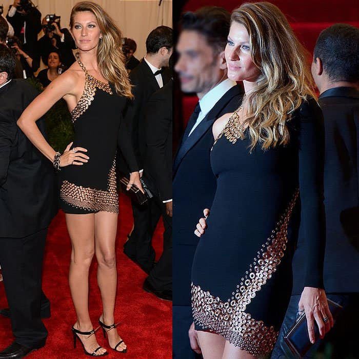 "Gisele Bundchen displayed her pelvic bones at the ""Punk: Chaos to Couture"" Costume Institute Gala"