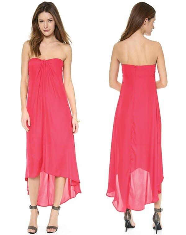 BB Dakota Savi High Low Dress3