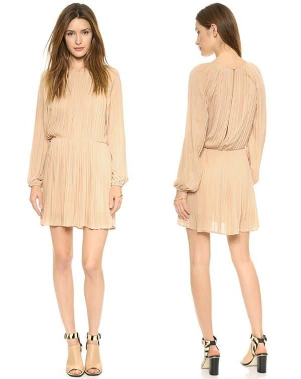 Blaque Label Pleated Dress