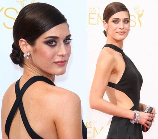 Emmys Lizzy Caplan7