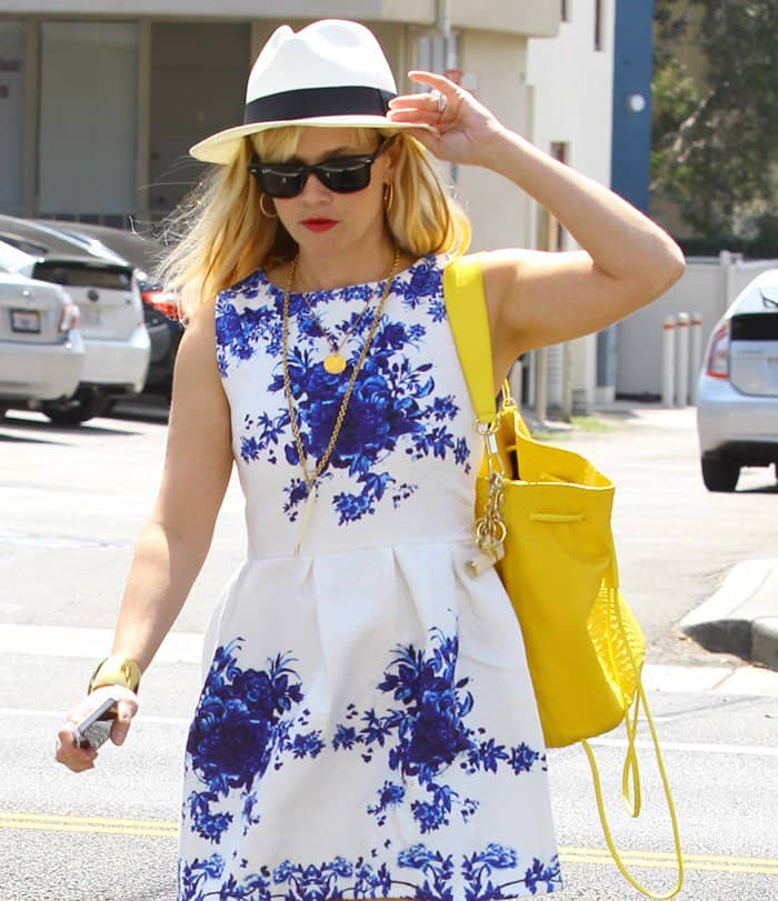 Reese Witherspoon out and about in Venice