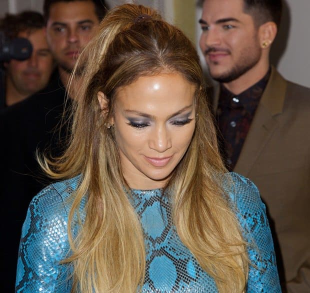 Jennifer Lopez pulled off this head-to-toe DSQUARED2 snakeskin ensemble with aplomb