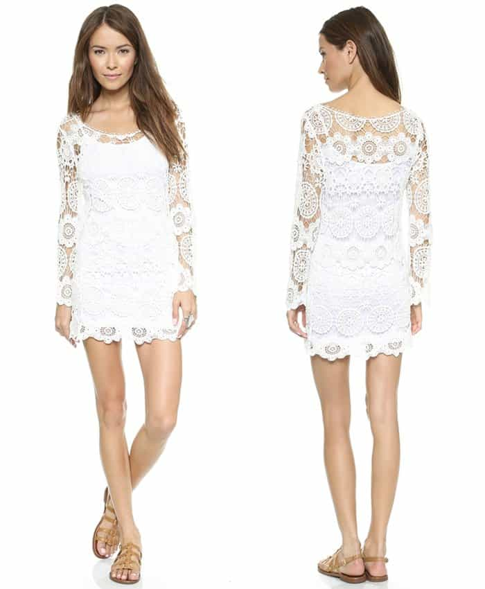 Reverse Body Con Crochet Dress3
