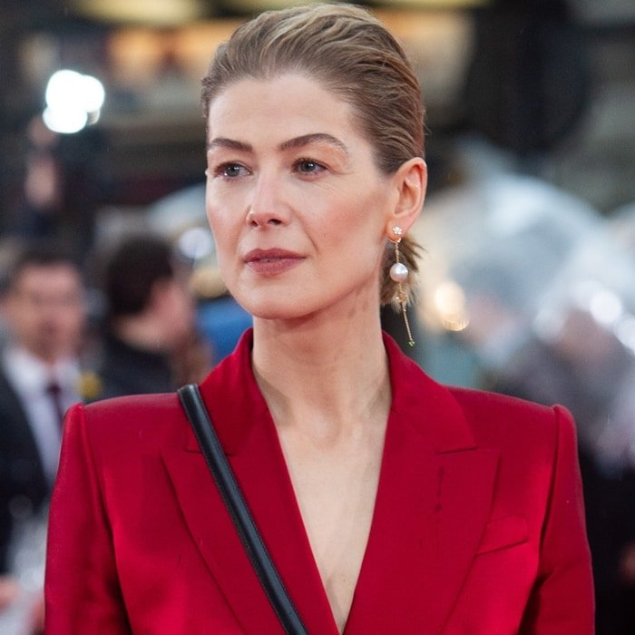 Rosamund Pike was suggested by fans to play Galadriel in Lord of the Rings but didn't get the role