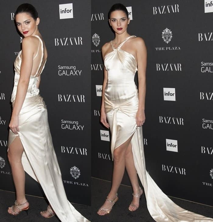Silk Dresses Kendall Jenner3