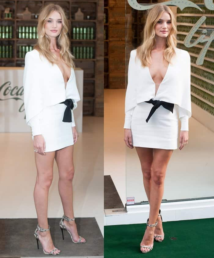 White Dress Rosie Huntington-Whiteley5