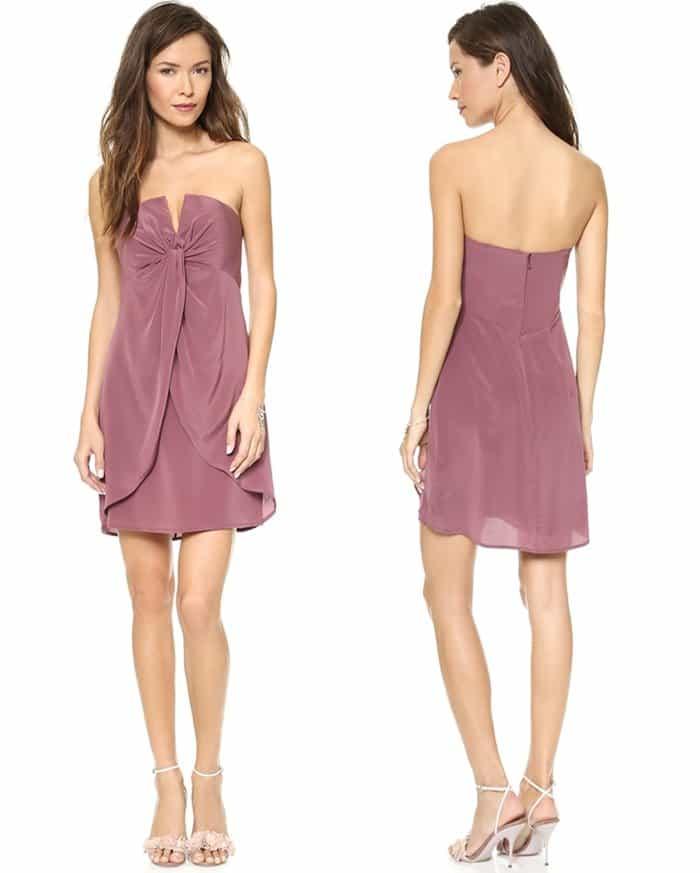 Zimmerman Silk V Dress3