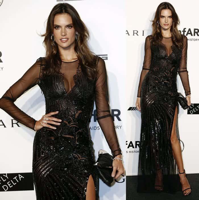 amfAR Gala Alessandra Ambrosio4