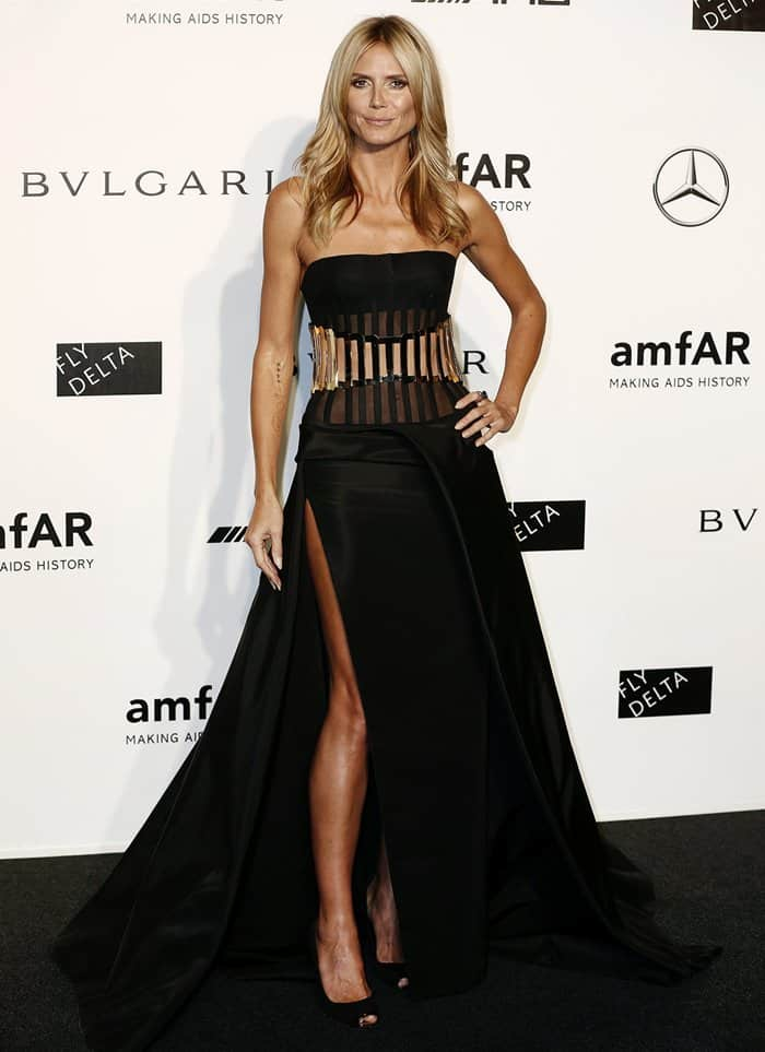 amfAR Gala Heidi Klum4