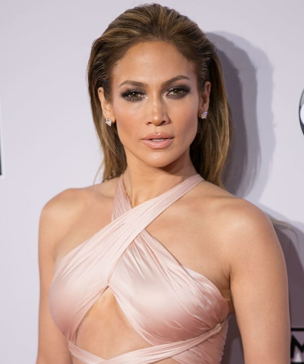 Jennifer Lopez at the 2014 American Music Awards held at the Nokia Theatre L.A. Live in Los Angeles on November 23, 2014