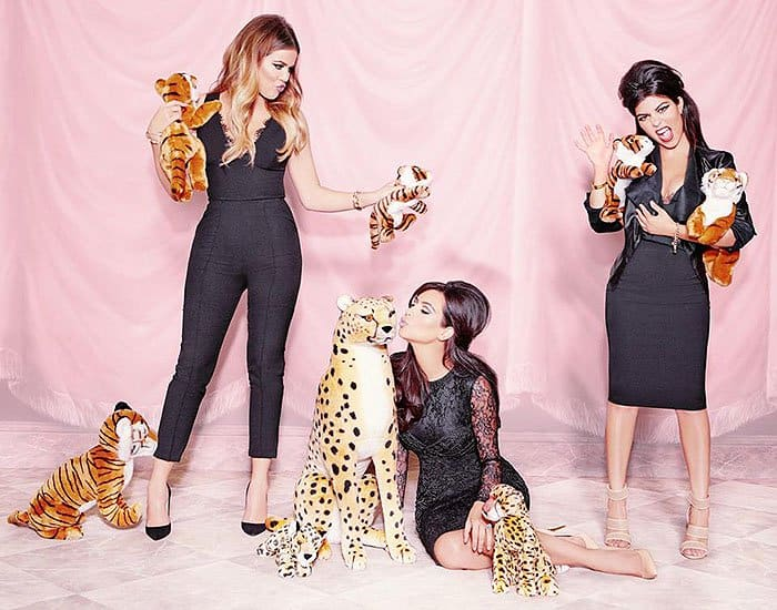 Kardashian Kollection for Lipsy fall winter 2014