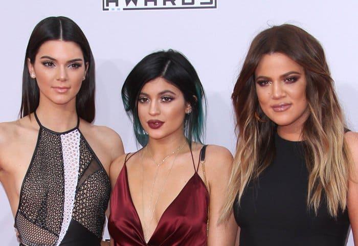 AMAs 2014 Kardashians2