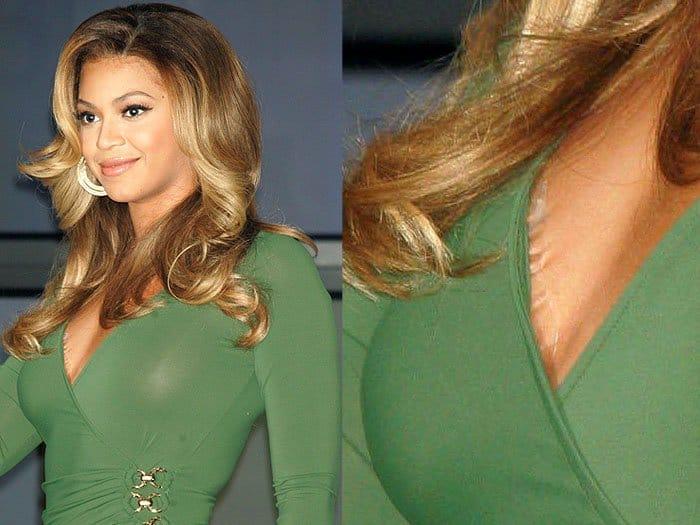 Beyonce boob tape