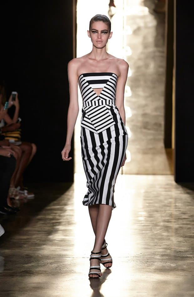 Stunning cutout dress from Cushnie et Ochs' S/S 2015 collection